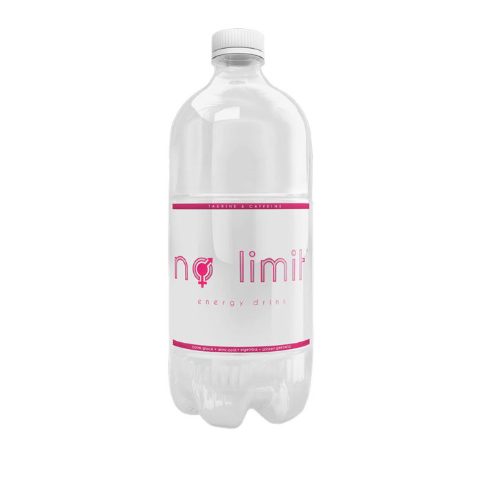 bouteille energy drink no-limit100cl